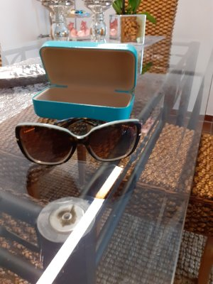 Tiffany&Co Oval Sunglasses brown
