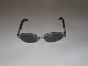 Vintage Bril zwart