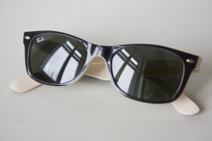 Sonnenbrille Unisex New RayBan Wayfarer Classic-schwarz/beige