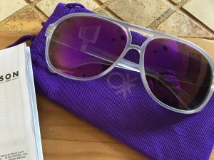 United Colors of Benetton Glasses lilac