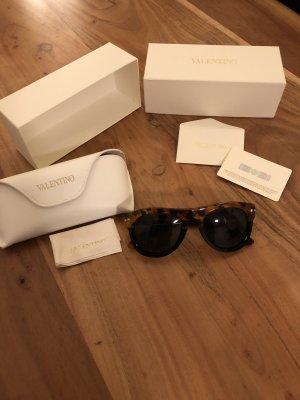 Sonnenbrille Valentino Rockstud schwarz/leo *Neu*
