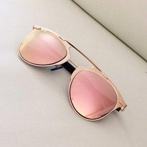 Sonnenbrille verspiegelt rosegold rosa rose Sunglasses