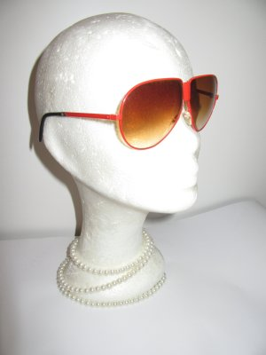 Vintage Glasses red