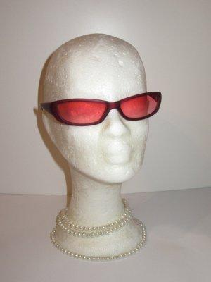 Sonnenbrille Vintage Retro rot