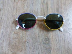Sonnenbrille Vintage Retro rund bunt
