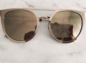 Asos Angular Shaped Sunglasses gold-colored