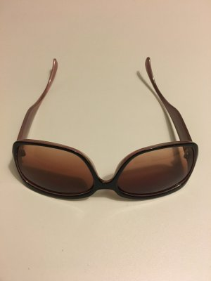 Bijou Brigitte Angular Shaped Sunglasses dark brown