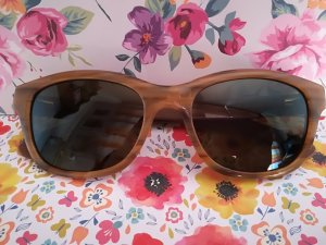 Retro Glasses brown-dark brown