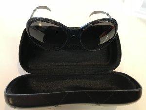 Chanel Occhiale da sole nero-argento
