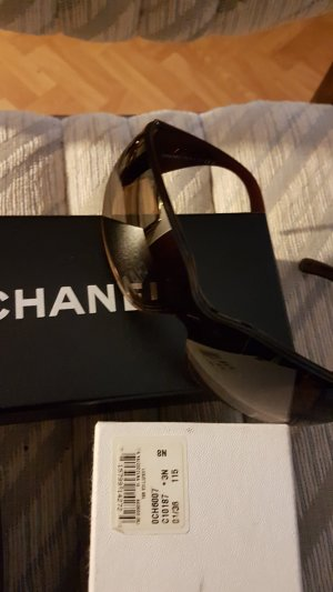 Chanel Occhiale bronzo