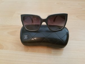Chanel Glasses black-grey