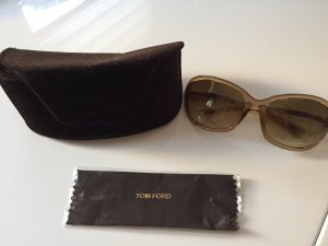Tom Ford Lunettes marron clair-brun sable