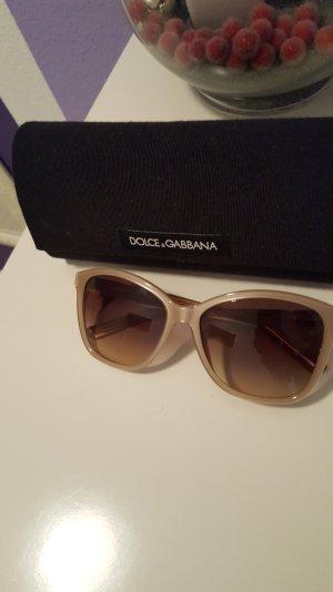 Sonnenbrille von Dolce & gabanna in beige / braun