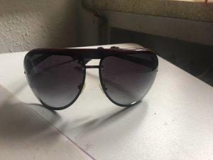 Emporio Armani Pilotenbril zwart-donkerbruin