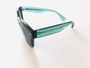 Sonnenbrille von Fendi, mint grün -schwarz, leoprint