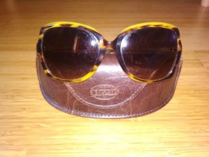 Fossil Sunglasses brown-lime yellow