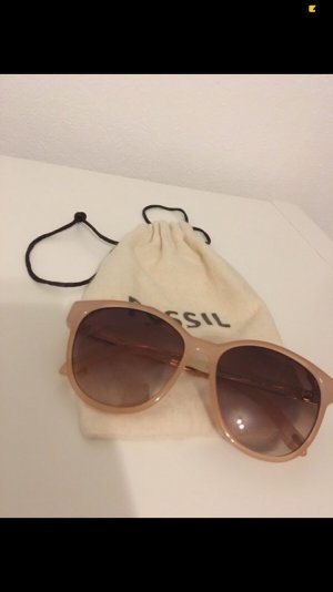 Fossil Oval Sunglasses rose-gold-coloured-gold-colored
