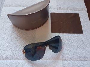Gucci Zonnebril zwart kunststof