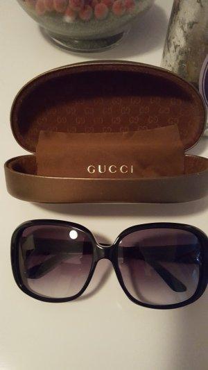 sonnenbrille von gucci schwarz
