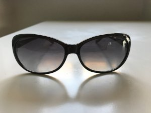 Guess Ovale zonnebril zwart-grijs