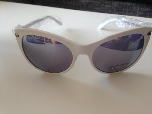Guess Gafas blanco-color plata