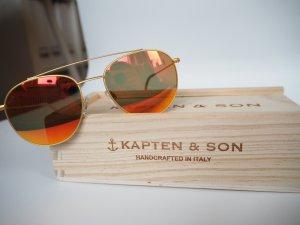 Sonnenbrille von Kapten & Son in Orange