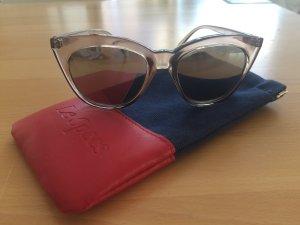 Le Specs Glasses beige