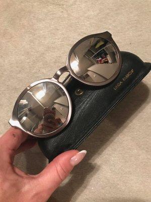Linda farrow luxe Bril grijs-bruin Metaal