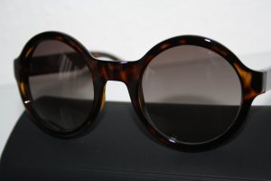 Marc by Marc Jacobs Round Sunglasses black-black brown