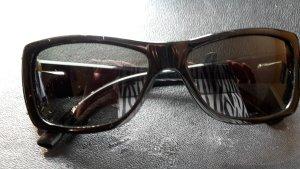 Marc Jacobs Hoekige zonnebril zwart
