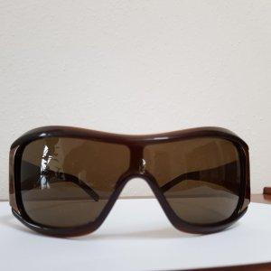 Max Mara Occhiale da sole ovale marrone-nero