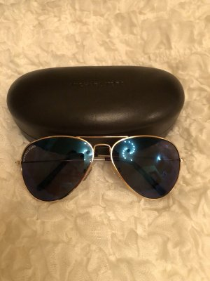 Michael Kors Aviator Glasses gold-colored-blue