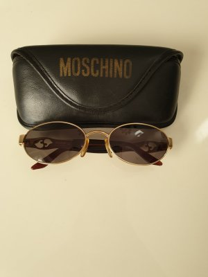 Moschino Zonnebril goud-donkerbruin