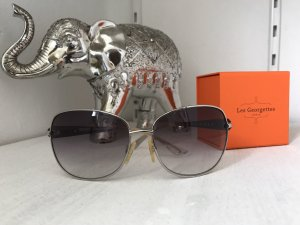 Moschino Butterfly Glasses silver-colored-grey