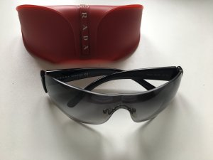 Prada Glasses anthracite-black synthetic material