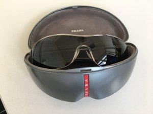 Prada Glasses black-silver-colored