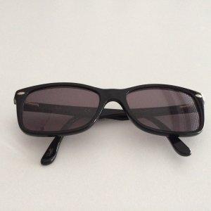 Ray Ban Angular Shaped Sunglasses black synthetic material