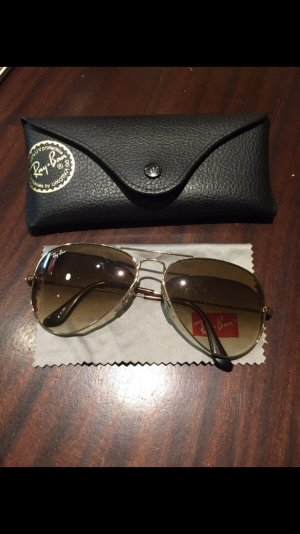 Ray Ban Glasses brown-gold-colored