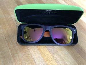 Oval Sunglasses purple-orange