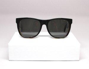 Sonnenbrille von RETRO SUPERFUTURE schwarz/braun horn