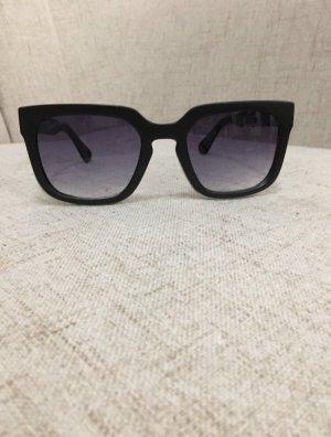 Angular Shaped Sunglasses black-dark blue