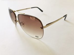 Sonnenbrille von Victoria Beckham VB, braun-gold