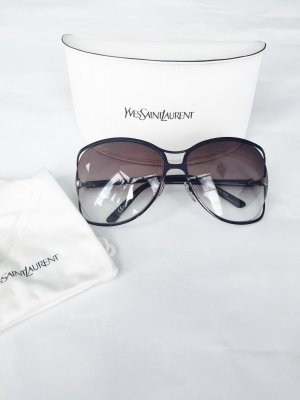 Sonnenbrille von Yves Saint Laurent, schwarz-lila