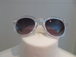 Zara Glasses white-sand brown mixture fibre