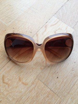 Zara Lunettes marron clair-gris brun