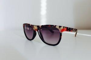 Sonnenbrille Wayfarer Damen Blumen