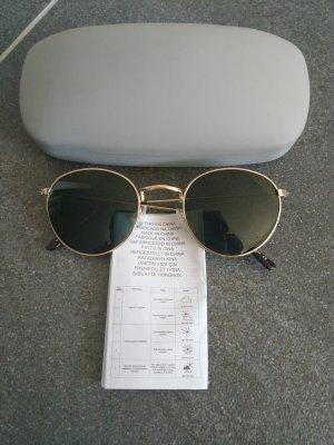 Zara Lunettes de soleil doré-gris vert