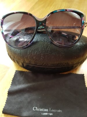 Christian Lacroix Round Sunglasses multicolored