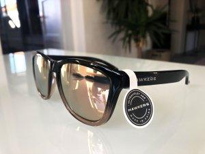 Sonnenbrillen mit Spiegelglas in Rose Gold