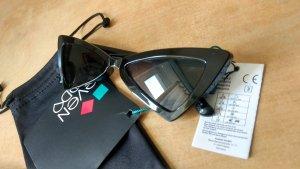 Even & Odd Gafas de sol cuadradas negro